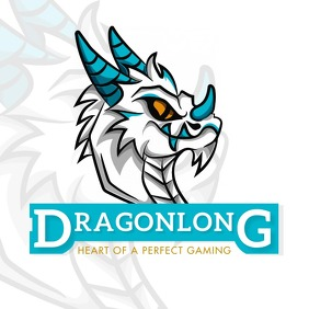 Video Game Streamer Logo Dragon