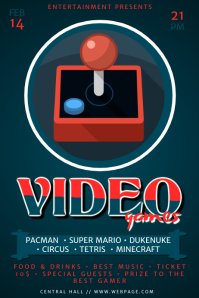 Video Games Flyer Template