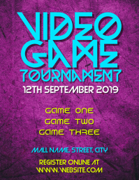 Video games tournament