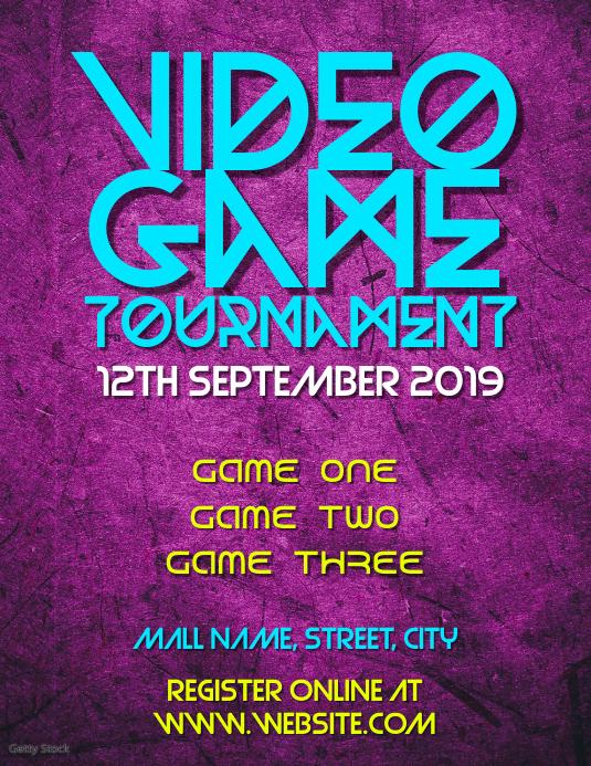Video games tournament