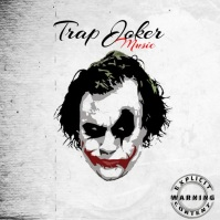 video Joker Trap Mixtape/Album Cover Art template
