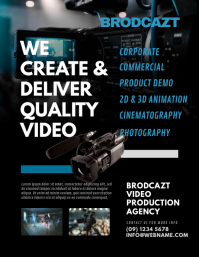 Video Production Agency Flyer