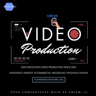 Video Production Photography Video Ad Message Instagram template