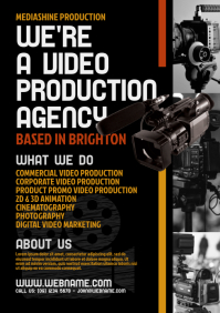 Video Production Services Flyer
