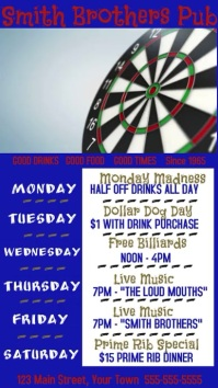 Video Pub Specials Darts