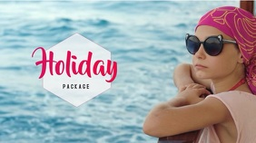 Video Template Holiday Summer