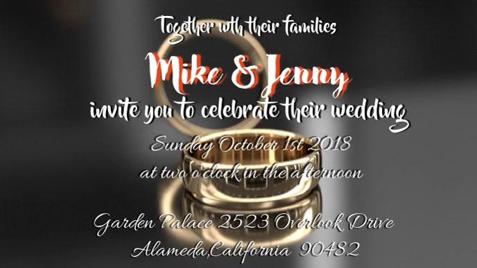 Video Wedding Invitation Template