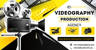 VIDEOGRAPHERS & VIDEO AGENCY Facebook Shared Image template