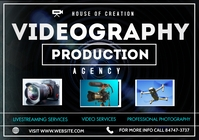 Videography Flyer A3 template