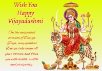 Vijayadashami pooja 3 A4 template