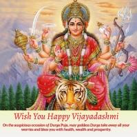 Vijayadashami pooja 4 Persegi (1:1) template