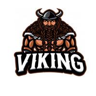 viking logo โลโก้ template
