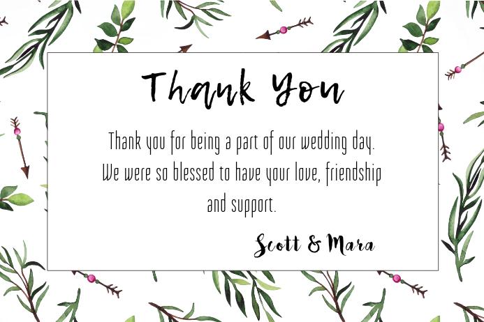 Vine Thank You