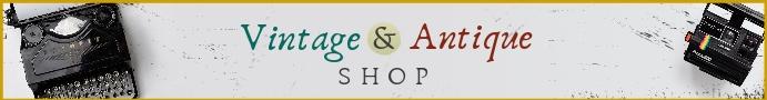 Vintage Antique Shop Etsy Banner Etsy-banner template