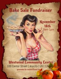 Vintage Bake Sale Findraiser