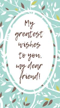 Vintage Best Wishes Whatsapp Status