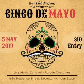 Vintage Cinco de Mayo Fiesta Ad