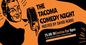 Vintage Comedy Night Facebook Event Banner
