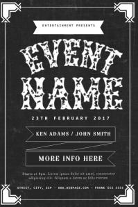 Vintage Event Flyer Template