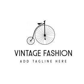 Vintage fashion logo