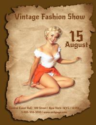 Vintage Fashion Show