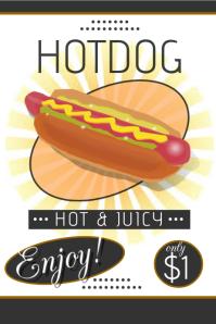 Vintage Hot dog