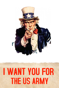 Vintage I want You Poster