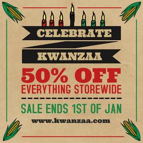 Vintage Kwanzaa Sale Online Ad