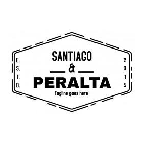 Vintage logo design Logotipo template