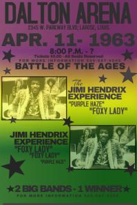 Vintage Mardi Gras Purple Green Yellow Fat Tuesday Band Fest