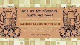 Vintage Oktoberfest Video Invite