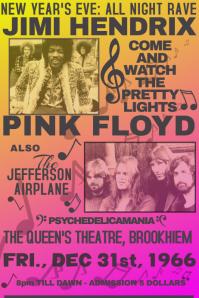 Vintage Rock Concert Retro Music Rock Simple 1970 1960