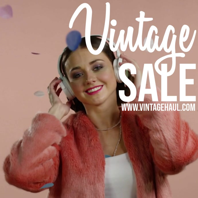 Vintage Sale Instagram post