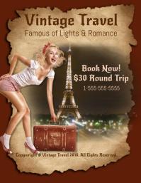 Vintage Travel Template
