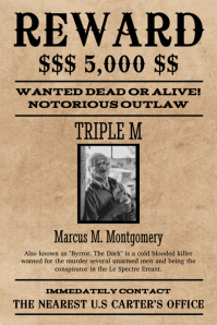 create a wanted poster online free