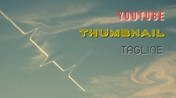 Vintage Youtube Thumbnail Plane in the Sky YouTube-miniature template