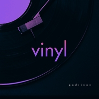 Vinyl Retro CD Cover Music Sampul Album template