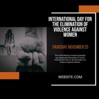Violence against Women Day Instagram-Beitrag template