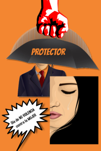 violence against women/womans day/protector