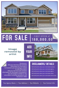 Violet Business Professional Promo Open House Retail Estate
