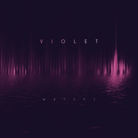 Violet Waters Minimal Cd Cover Art Template