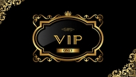 VIP Card นามบัตร template