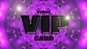 VIP card purple / velvet
