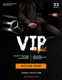 Vip Gentleman Night Party Flyer Template