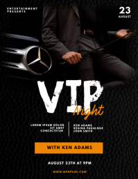 Vip Gentleman Night Party Flyer Template