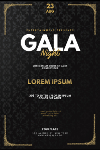 VIP Gentleman Prom Gala Night Flyer Template