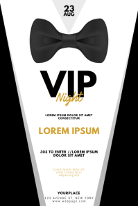 VIP Gentleman Prom Night Flyer Template