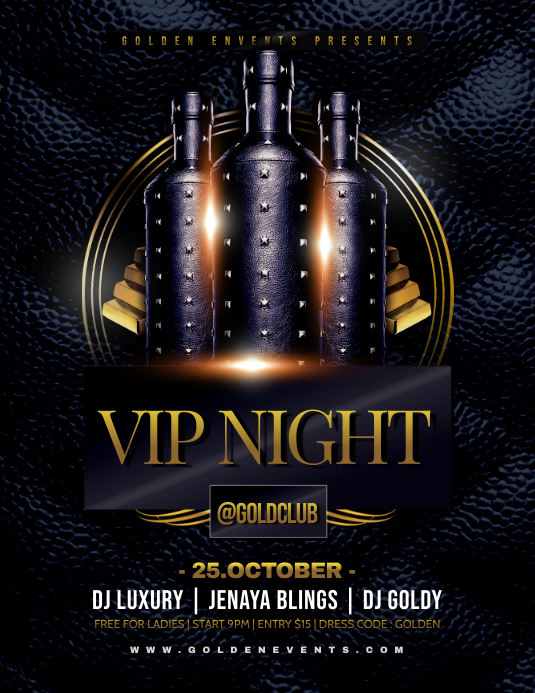VIP NIGHT Flyer Template