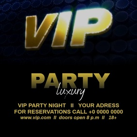VIP NIGHT VIDEO AD TEMPLATE