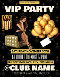 VIP PARTY CLUB FLYER TEMPLATE